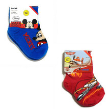 Disney Mickey Mouse Pixar Planes Boys Kids Baby Toddler Socks 2 Pr. Size... - $7.95