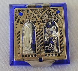 Primary image for Mini blue rosary box