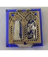 Mini blue rosary box - $20.00