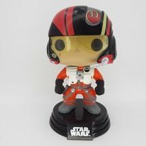 Star Wars Poe Dameron X-Wing Pilot Funko Pop Figure #62 Loose - $6.99