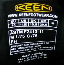 Keen Seattle Romeo Size 11.5 M (D) EU 45 Men's Aluminum Toe Work Shoes 1021344 image 6