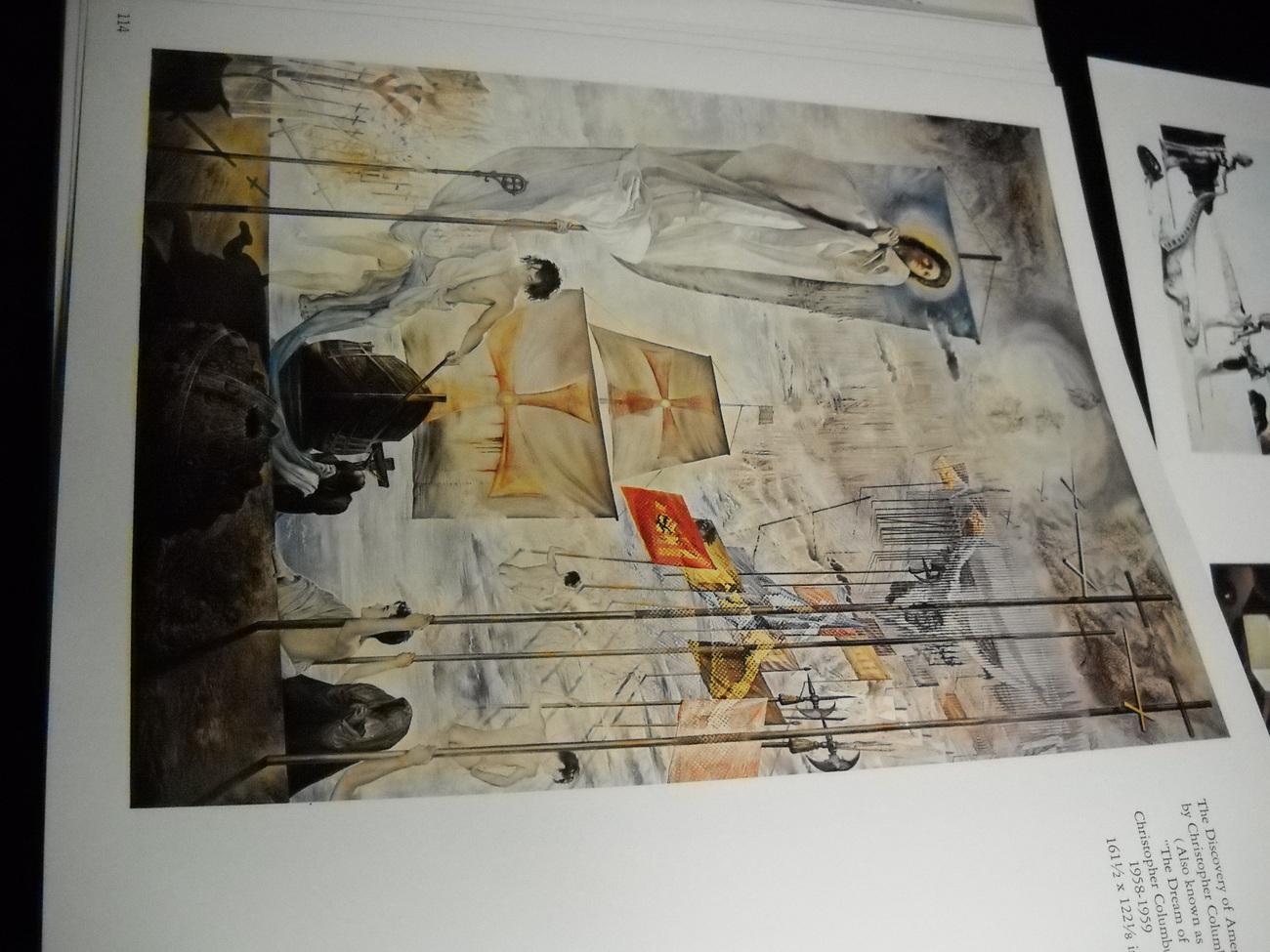 Salvador Dali...A Collection 1917-1970 54 Color Plates 1972 Deluxe Edition HCDJ