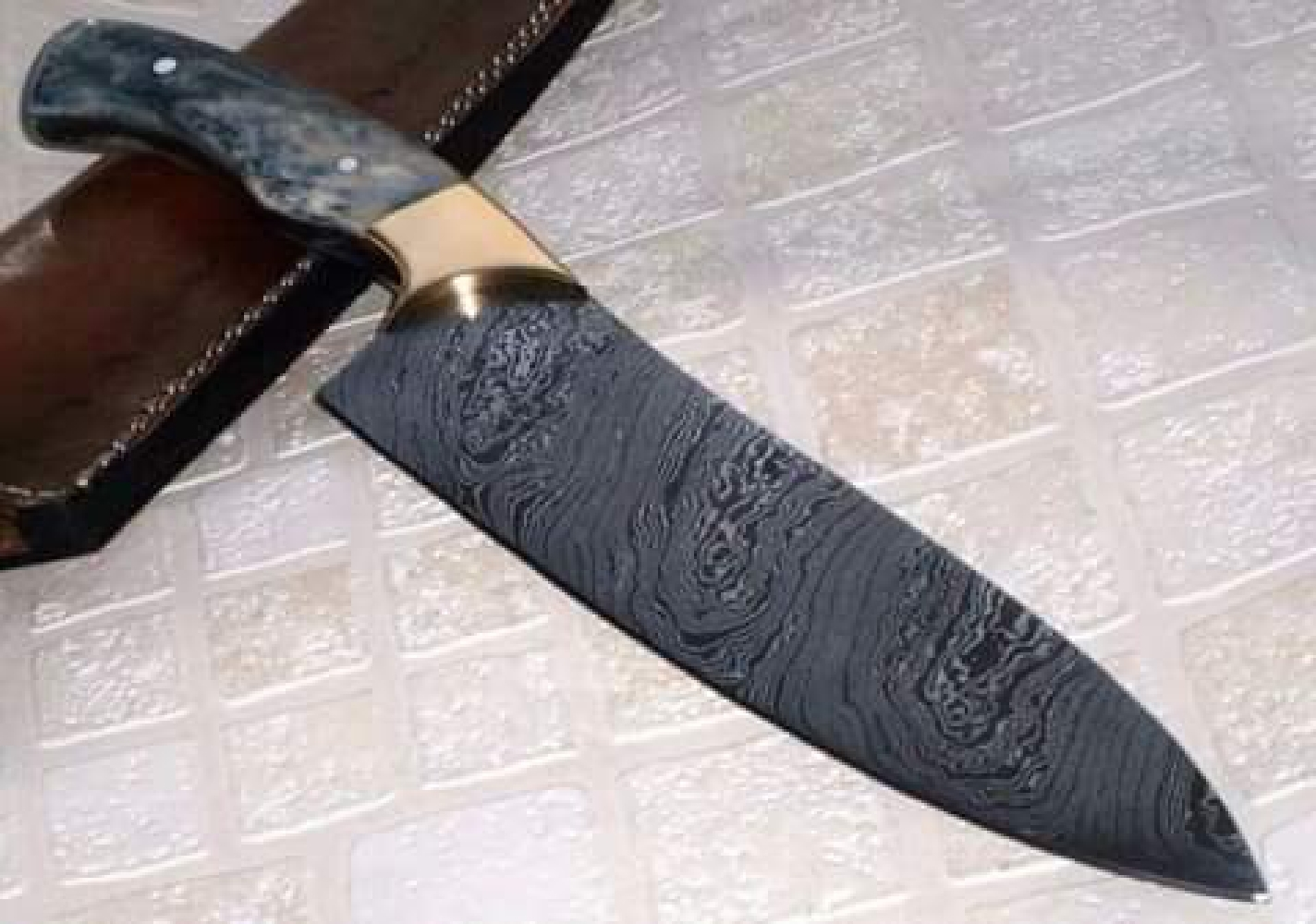 For Sale, Hand Made Chef Knife image 13