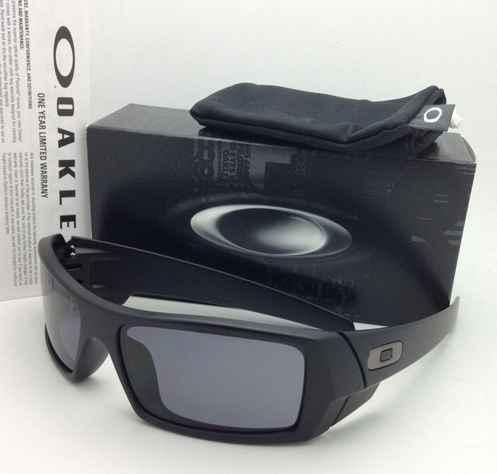 f23e03c7a9 S l1600. S l1600. New OAKLEY Sunglasses GASCAN 03-473 60-15 Matte Black  Frames with Grey lenses