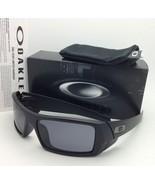 New OAKLEY Sunglasses GASCAN 03-473 60-15 Matte Black Frames with Grey l... - $99.95