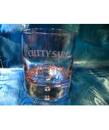 Cutty Sark Scotch Whisky Glass Collectible Souvenir Tumbler Sailboat Ship - $7.99