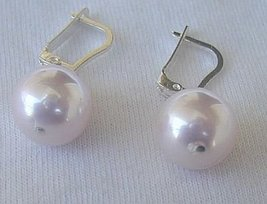 Pink pearls earrings thumb200