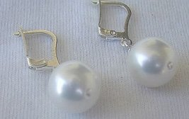 White pearls earrings 1 thumb200