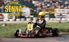 *Fujimi model 1/20 cart series No.1 Ayrton Senna cart 1981 - $53.85