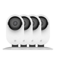 YI 4pc Home Camera, 1080p Wireless IP Security Surveillance System with ... - $165.69
