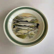 "Portmeirion Compleat Angler 10 1/2"" Dinner Plate Sea Trout - $83.75"