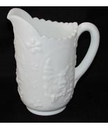 "IMPERIAL Glass Milk White Windmill Creamer Pitcher 6.5"" - $14.00"