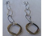 Silver dangaling earrings thumb155 crop