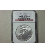 SILVER EAGLE-2006- NGC GEM UNCIRCULATED - $39.00