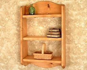Wood Shelf - Town & Country Shelves
