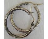 Engraved hoops earrings thumb155 crop