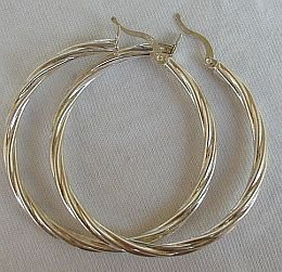 Hoop earrings - $25.00