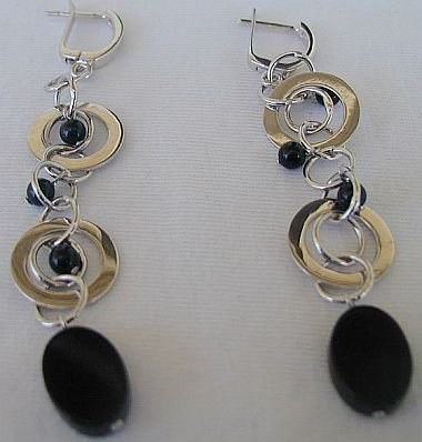 Massimo ruaro oynx earrings