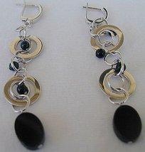 Massimo Ruaro onyx earrings - $50.00