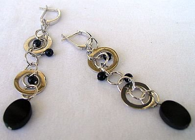 Massimo Ruaro onyx earrings