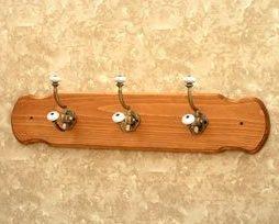 Nickel Double Hangers Wall Coat Hook