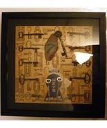 Framed Skeleton Key Collection  - $100.00