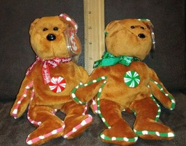 Ty Spearmint & Peppermint Hallmark Exclusive B EAN Ie Baby Set - Mint w/ Mint Tags - $49.99