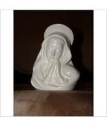 LEFTON # 1719 WHITE PRAYING MADONNA VASE  - $46.70 CAD