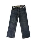 Tony Hawk Boys Straight Denim Pants with Belt - Medium Indigo, Size 5 - $24.00