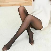 High Elastic Waist Thick Warm Winter Leggings Slim Fit For Women Nylon S... - $13.23+