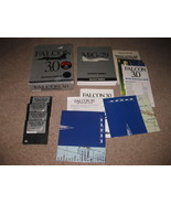Falcon 3.0 Spectrum Holobyte (PC, 1991) Floppy Disk Complete w/ Box 3.5 ... - $29.99