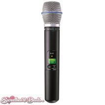 Shure SLX2/BETA87A J3 | BETA87A Handheld Wireless Microphone Transmitter - $379.99