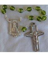 Mini peridot rosary - $15.00