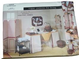 Vogue 2223 Susanna Stratton Norris Pattern Home Office Organizer 13349 - $12.17