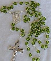 Peridot rosary - $33.00