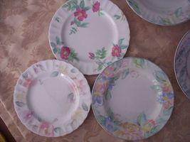 4 Mikasa Silk Blossoms Fleuriste Classics Bowl Plates - $23.75