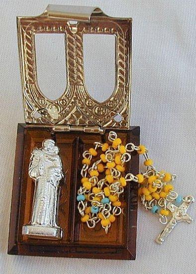 Mini iovry rosary box
