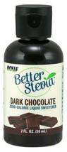 NOW Foods BetterStevia® Dark Chocolate - 2 fl. oz. Pack of 12 - $72.52