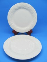 "2 Tabletops Fruit de Blanc 7 3/4"" Salad Plates Set of 2  - $14.54"
