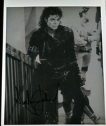 Michael Jackson Autographed 8x10 Photo COA - $350.00