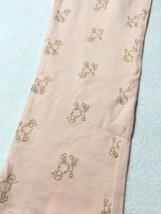 Gap Kids Girls XL 12 Light Pink Peach Gold Poodle Puppy Dog Leggings READ FLAW - $5.99