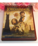 The Lord Of The Rings The Two Towers Full Screen 2 DVD set Special Features - $19.99