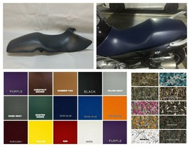 "BMW F650 CS Seat Cover ""Scarver"" 2001 - 2005   in 25 COLORS or 2-tone any combo - $32.95"
