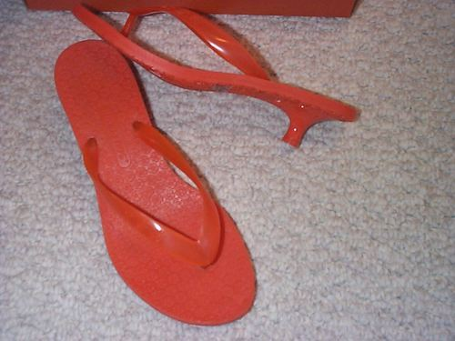 Rocket Dog Orange Thong Sandal - 6M & 7M