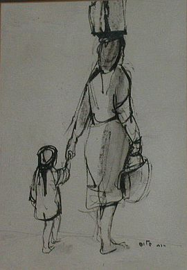 'Mother and daughter'