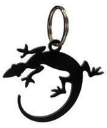 Key Chain Village Wrought Iron Inc Lizard  Blac... - $18.49