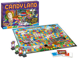 Candy Land Willy Wonka & the Chocolate Factory Limited Edition Board Game Sealed image 3
