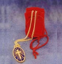 Jewelry cross with bag - $15.00