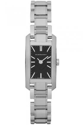 Burberry BU9601 Women's Rectangular Stainless Steel Watch