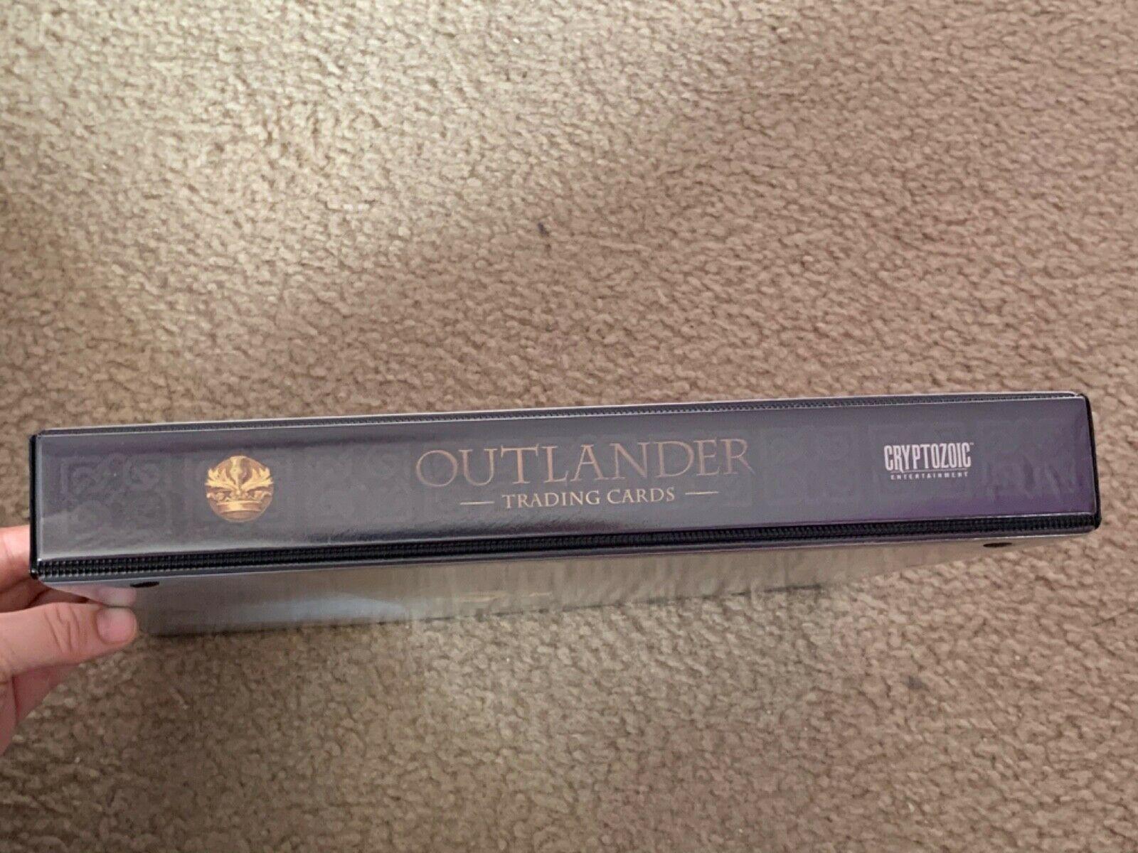 Outlander Season 1 Binder Wardrobe M37 B1 Promo Chase Base image 3